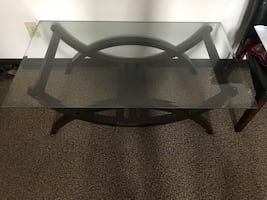 1 coffee table with 1 End table