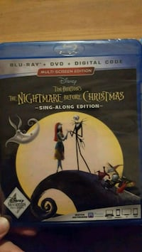 BlueRay+ Nightmare Before Christmas Sing Along