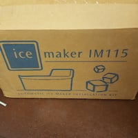 Ice Maker and Installation Kit Closter