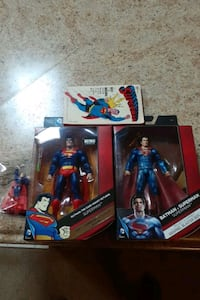 Superman figure collectible lot Trinity, 35673