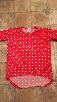Lularoe red and white size 4 St. Albans, 25177