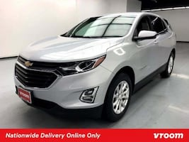 2018 Chevy Chevrolet Equinox Silver Ice Metallic hatchback
