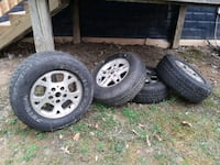 4 Jeep Mud Tires Front Royal, 22630