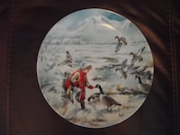 "Bradex Collectors Plate ""Sharing"" NATURE""S CHILD Collection Hanover"