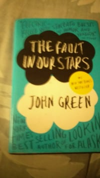 The Fault in our Stars by John Green book