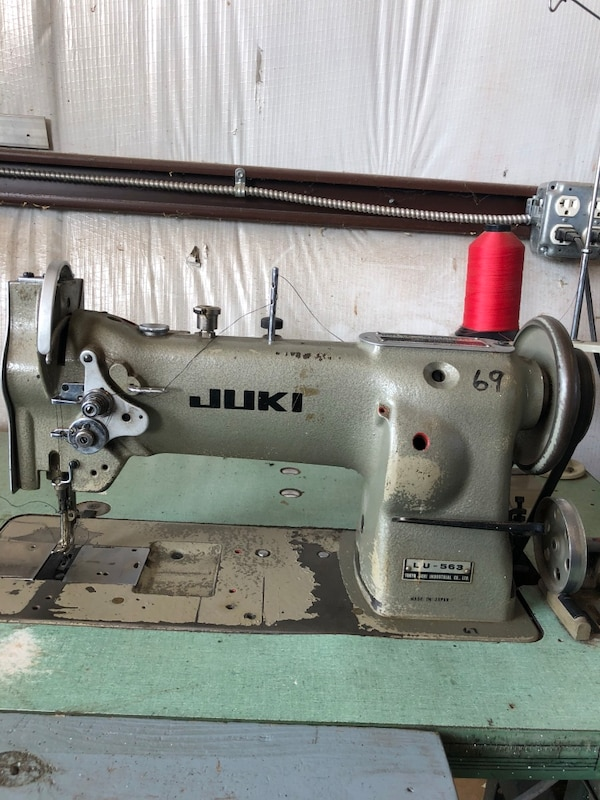 Upholstery Sewing Machine >> Juki Lu 563 Commercial Upholstery Sewing Machine