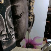 Double sided Buddha partition / privacy screen Temple Hills, 20748