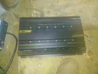 black and gray car amplifier 2336 mi