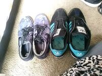three pairs of low-top sneakers Tonganoxie, 66086