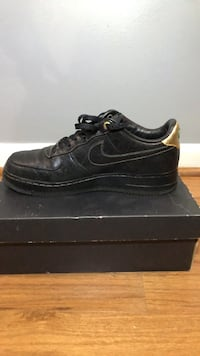Pair of black nike air force 1 low shoes Hoover, 35226