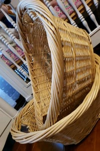 wicker baskets $5 each Scranton