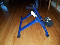 blue and black bike trainer Montréal, H2X 2R3