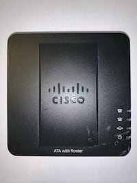 Cisco - Spa122 2port Fxs 1port Fe Wan 1port Fe LAN Ata with Router