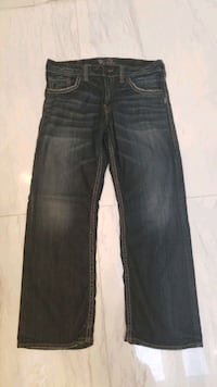 "men's Silver jeans ""zac"" 34/30 Richmond, V6V 2L8"
