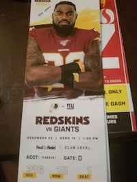 Tickets NFL ny giants redskins Baltimore, 21224