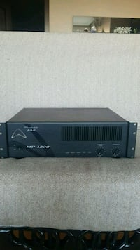Power anfi MP1200 Osman Temiz, 06450