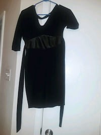 black and white long-sleeved dress 1199 mi