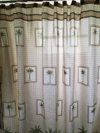 Shower curtain and accessories  Fort Myers, 33912