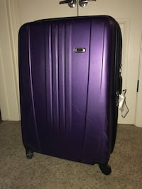 "Skyway purple suitcase 29"" with spinner wheels Pleasanton, 94566"