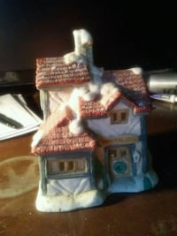 brown and white ceramic house miniature Brooksville, 34610