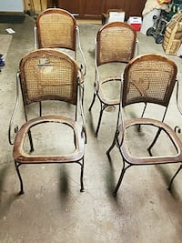 Antique Wrought iron chairs Rolling Meadows, 60008
