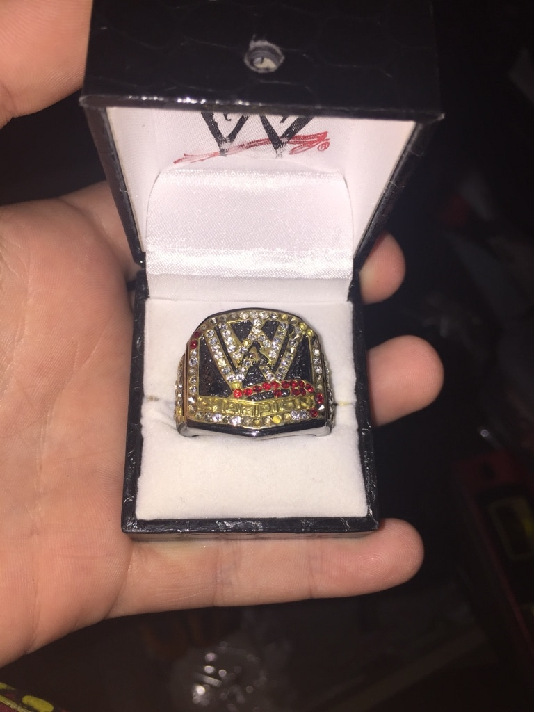 Photo WWE Wrestling Belt Ring