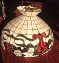 Vintage Stained Glass Light Fixture Elk Grove Village, 60007