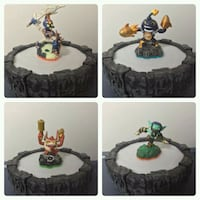 Skylanders  Figures & Portal of Power set Coquitlam, V3J 1S8