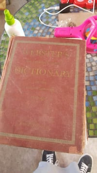 Vintage Websters dictionary from the 30s 40s Pharr, 78577