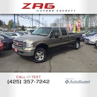 2006 Ford Super Duty F-350 SRW Lariat Everett, 98204