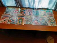 Marvel spiderman comics and plus a thor comic and more