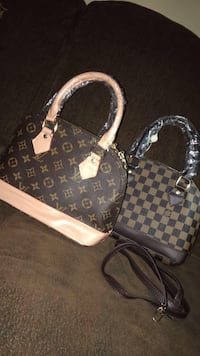 damier ebene Louis Vuitton tote bag and wallet Chicago, 60632