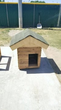 brown and black wooden dog house Kerman, 93630