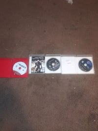 four assorted PS3 game cases Merced County, 95348