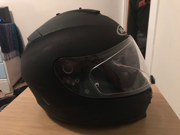 HJC IS-17 Matte Black Motorcycle Helmet 8c7dfd10-e7cd-44b2-88e0-e911fc9bec22