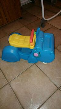 baby's blue and yellow plastic toy Welland, L3C 6R8