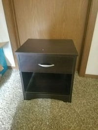 brown wooden 2-drawer nightstand Lincoln, 68521