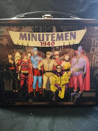 Watchmen Minutemen Metal Lunchbox by Necca