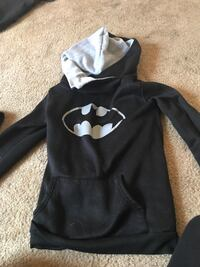 black and white Under Armour pullover hoodie Austin