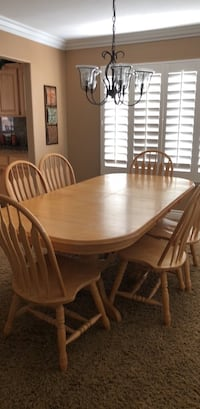 Dining Table with 6 Chairs Corona, 92881