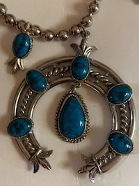 Fashion necklace turquoise Great Falls, 59405