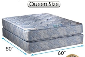 Used Queen Size Mattress and Boxspring
