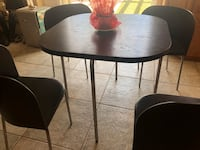 IKEA FUSION DINING TABLE + 4 CHAIRS  Santa Clarita, 91390