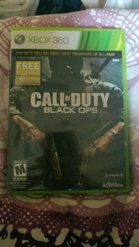 Call of Duty Black Ops Xbox 360 game case Prescott Valley, 86315