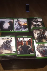 Xbox one games all 7 games  Anchorage, 99517