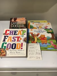 Tons of books (kids and adult) Mount Kisco, 10549