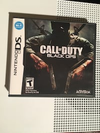 Nintendo ds call of duty black ops Naperville, 60564