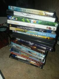 assorted DVD movie case lot Cottonwood Heights
