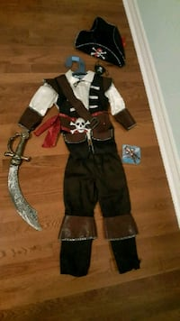 Kids Pirate Halloween Costume Markham, L6E 2B6
