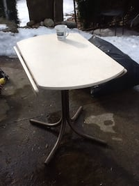 """Very good shape folding table . 30"""" high and 35"""" wide"""